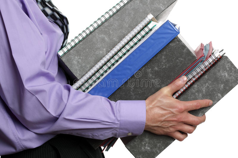 Too much work royalty free stock image
