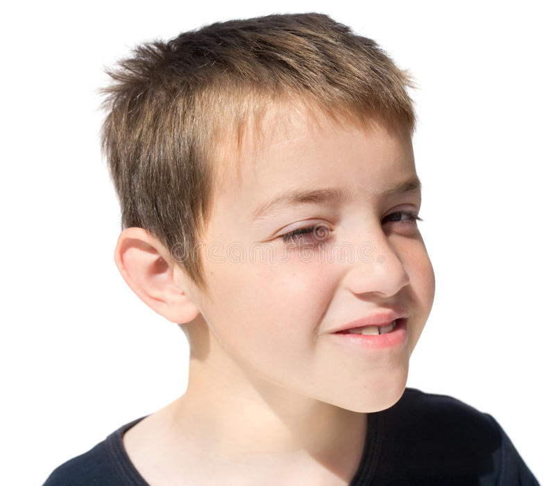 Download Too sunny to look at you stock image. Image of child - 11434729