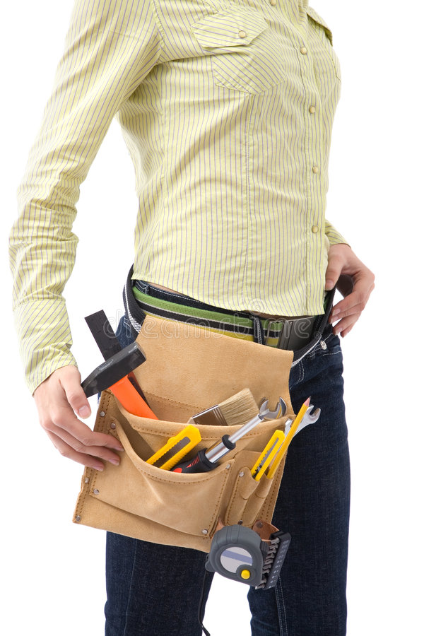 Tool bag royalty free stock photos