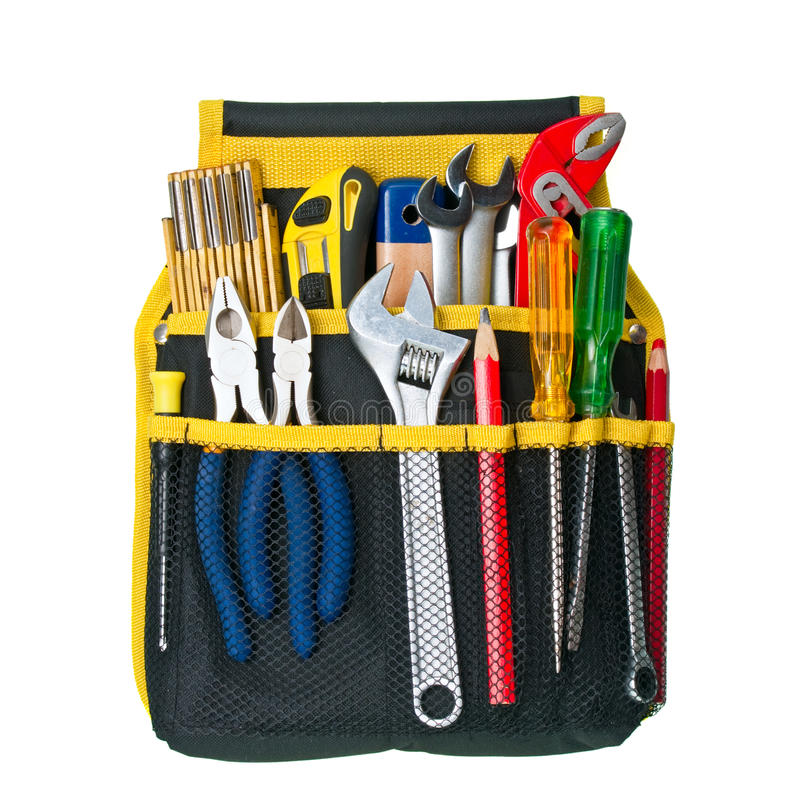 Download Tool Belt stock photo. Image of cutter, organize, service - 13469238
