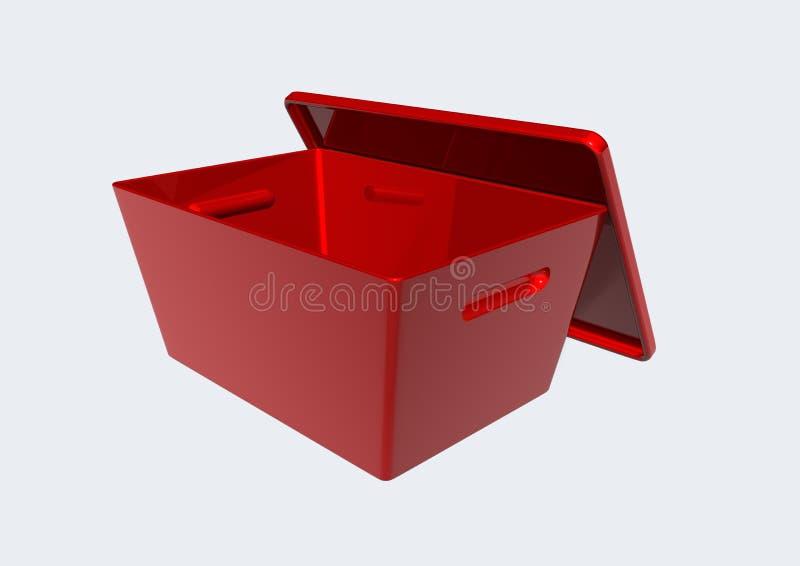 Download Tool box stock illustration. Illustration of little, luggage - 12519781