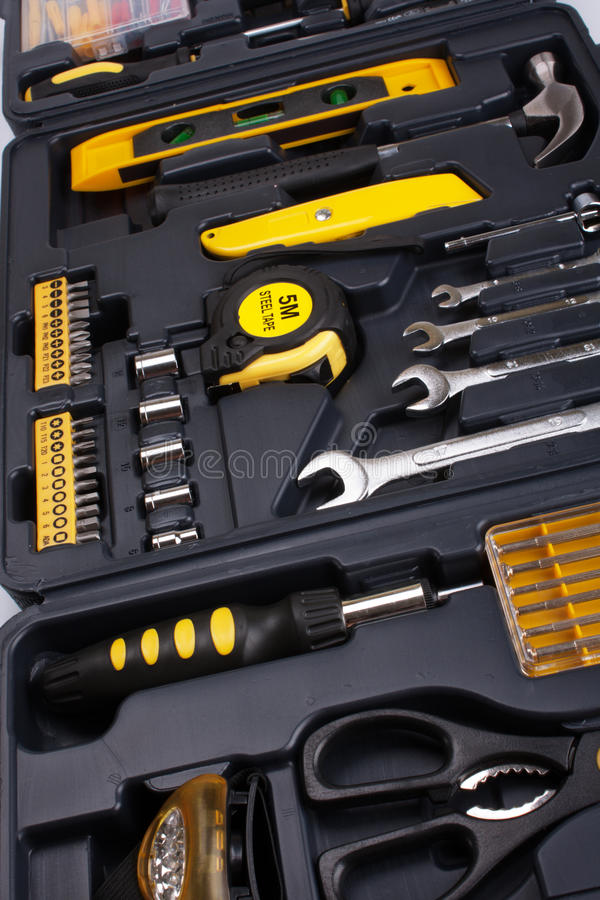 Download Tool Box Set stock image. Image of arranging, hammer - 14854559