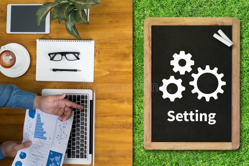 Tool di setup messa a punto di configurazione e raggiro della regolazione del meccanismo della ruota fotografia stock