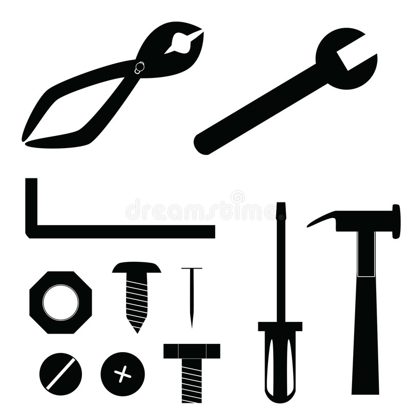 Free Tool Icons Royalty Free Stock Images - 6179819