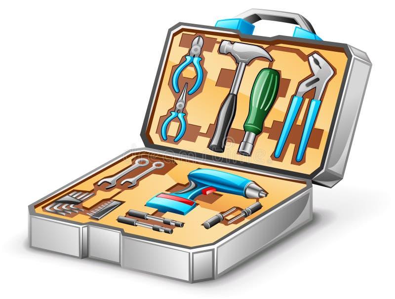 Tool kit vector illustration