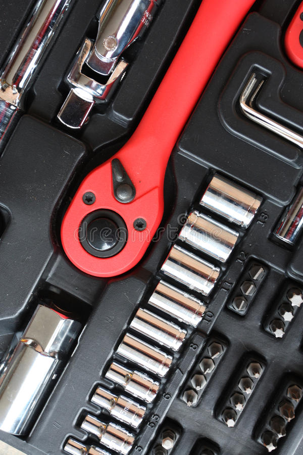 Tool kit for the mechanic