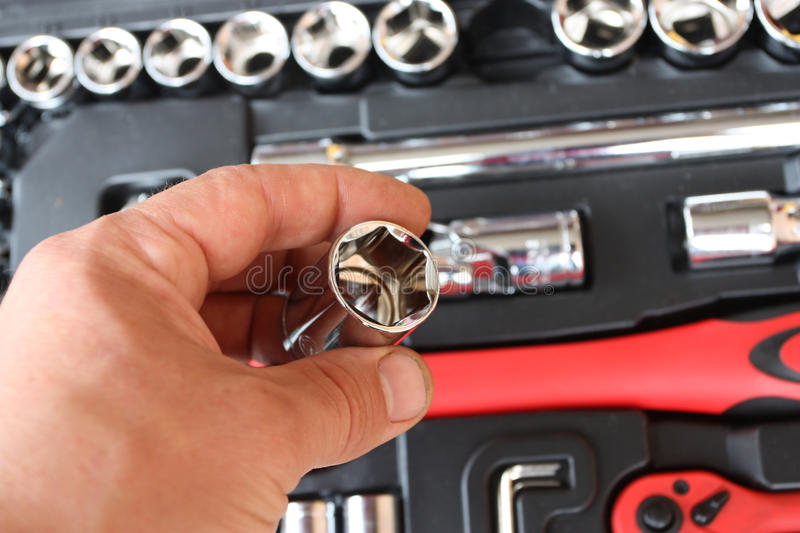 Download Tool kit for the mechanic stock image. Image of design - 33535437