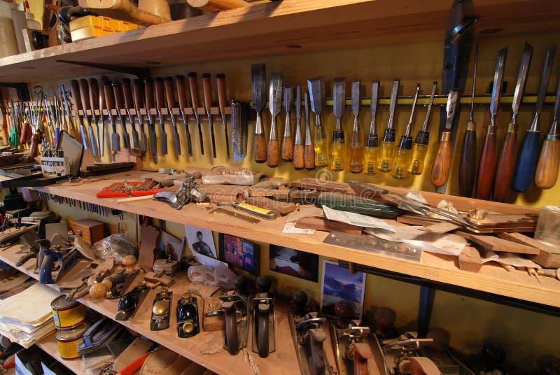 Tool rack stock photography