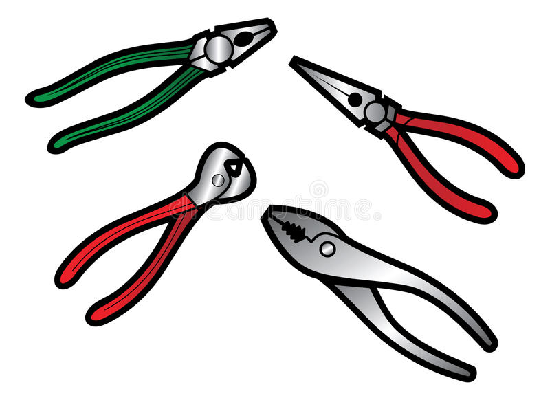 Tool set royalty free illustration