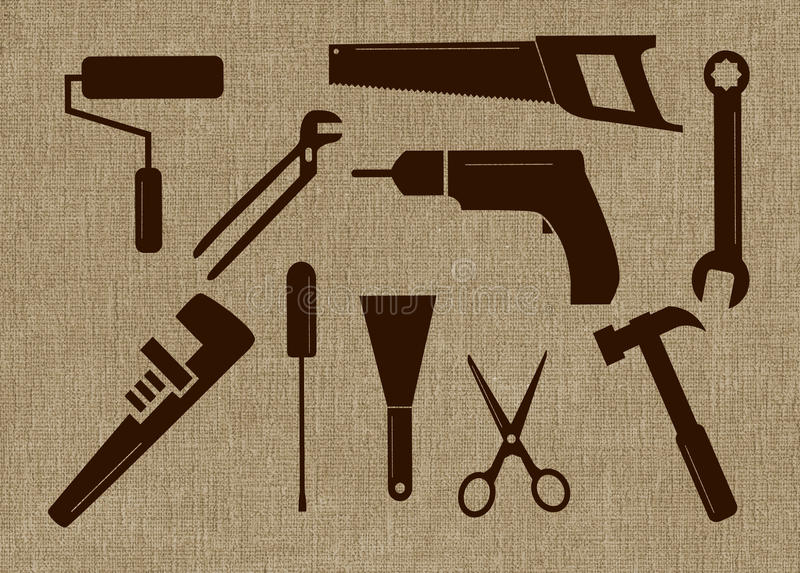Tool Shapes Stock Photography