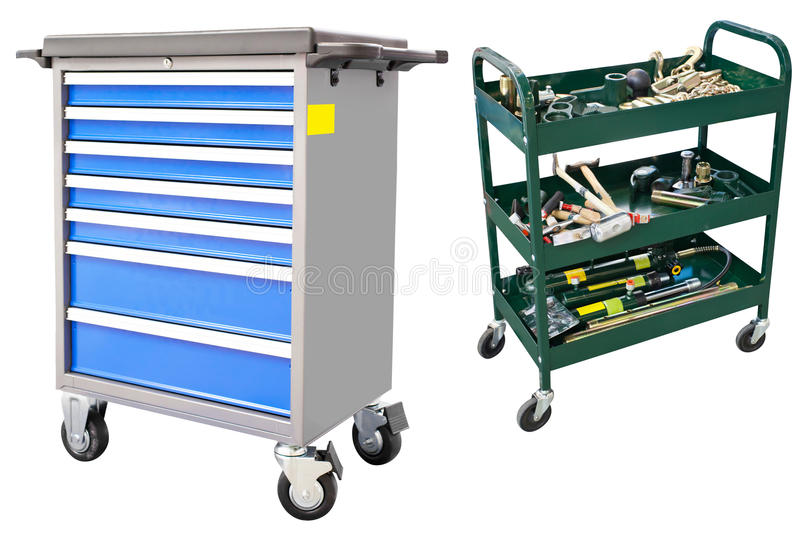Download Tool Trolley Royalty Free Stock Images - Image: 28772569
