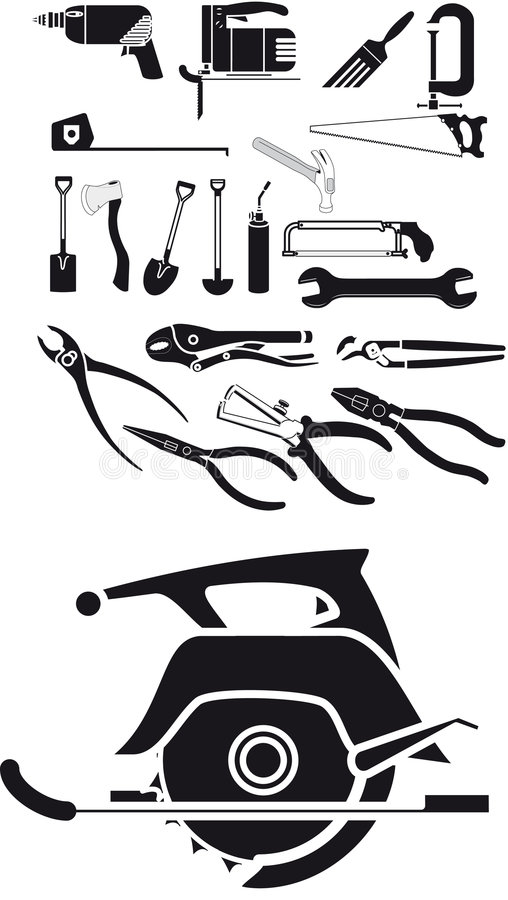 Free Tool Vector Royalty Free Stock Image - 6936596