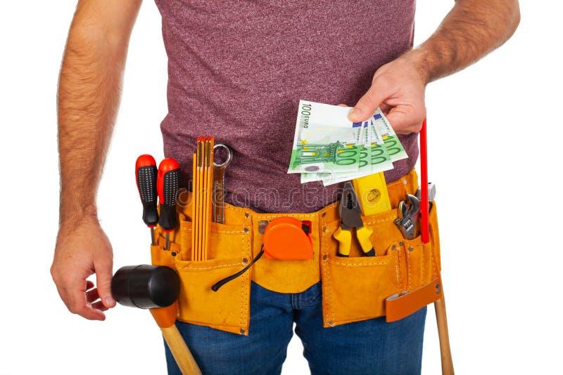 ??toolbelt 免版税库存图片