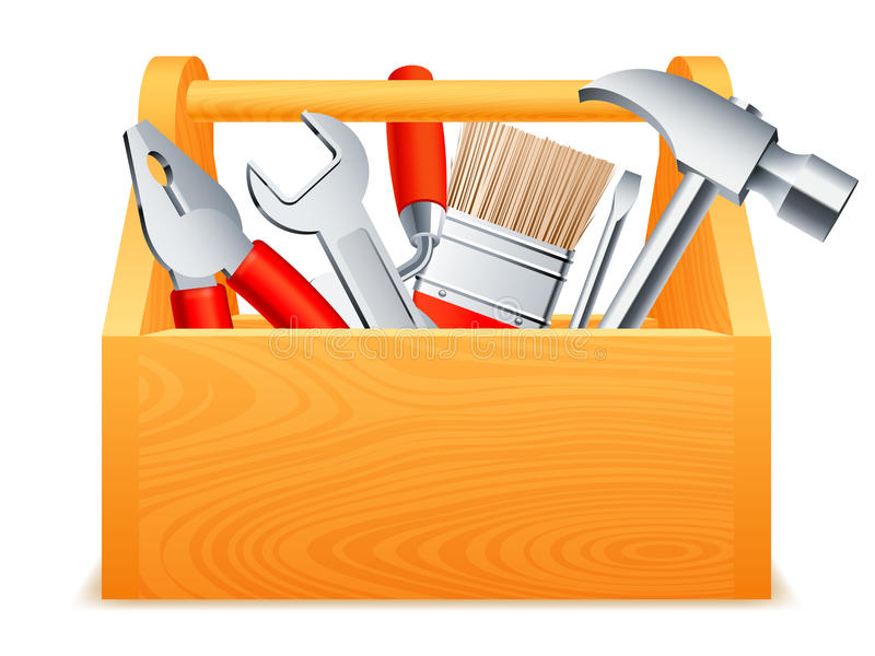 toolbox stock illustrationer