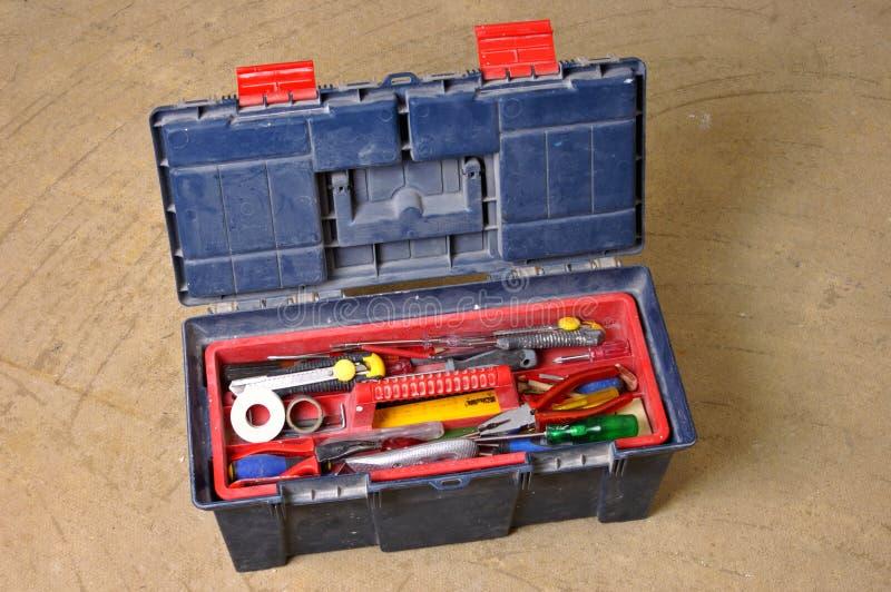 toolbox royaltyfri foto