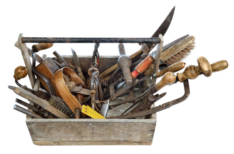 Toolbox royalty free stock photo