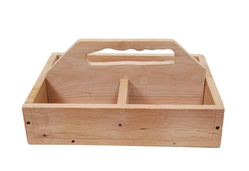 toolbox drewniany zdjęcia stock