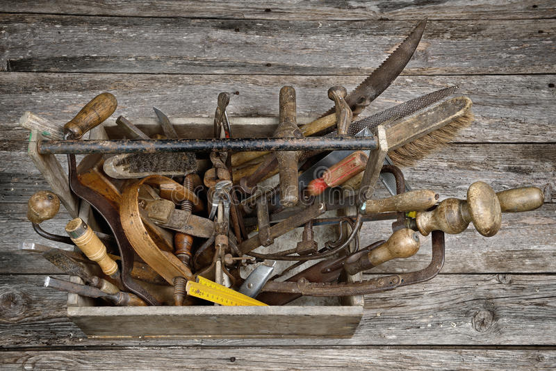 Toolbox four stock photography