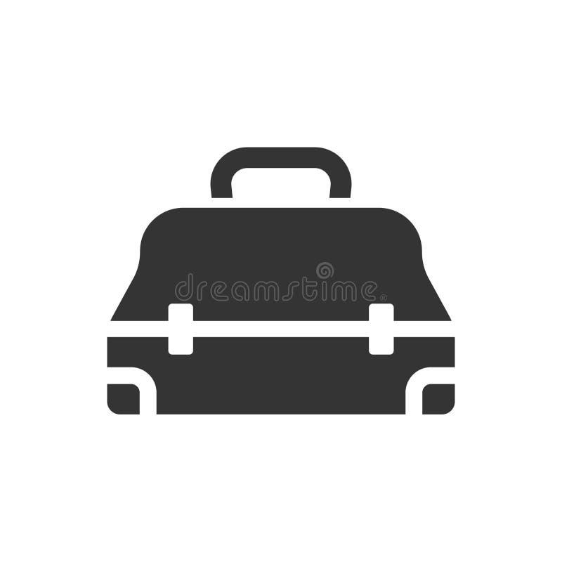 Toolbox pictogram vector illustratie