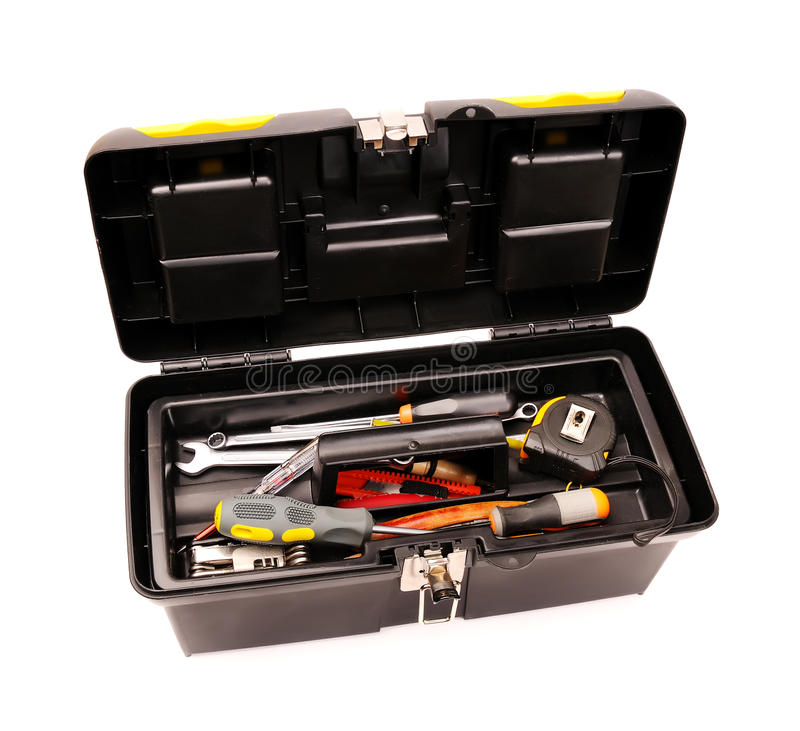 Free Toolbox With Tools Royalty Free Stock Image - 13864466