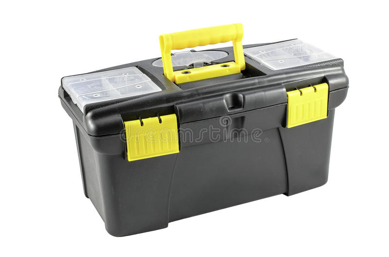 toolboxes image stock