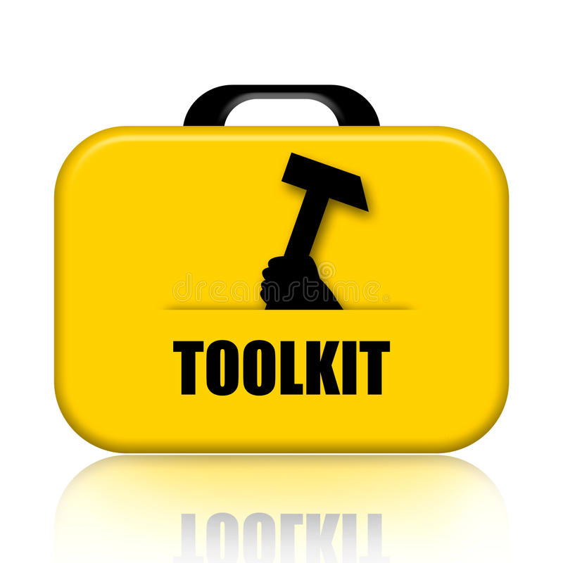 Toolkit royalty free illustration