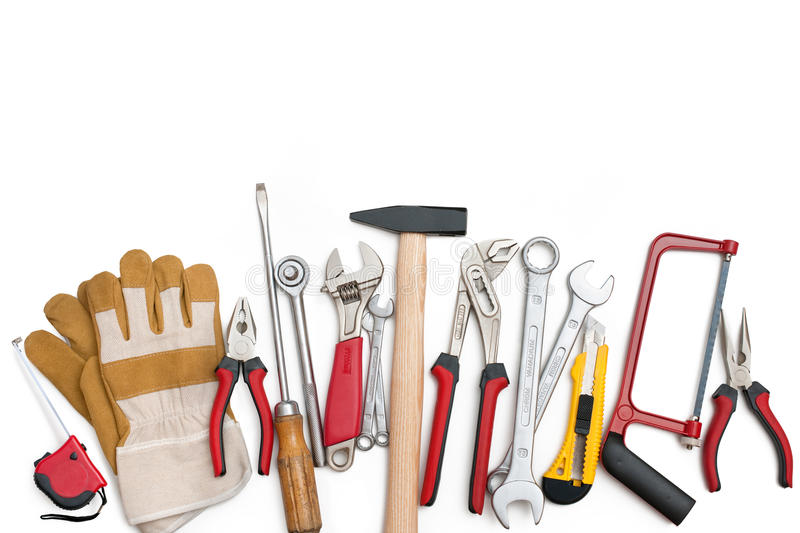 Download Tools stock image. Image of horizontal, improvement, construction - 20739139