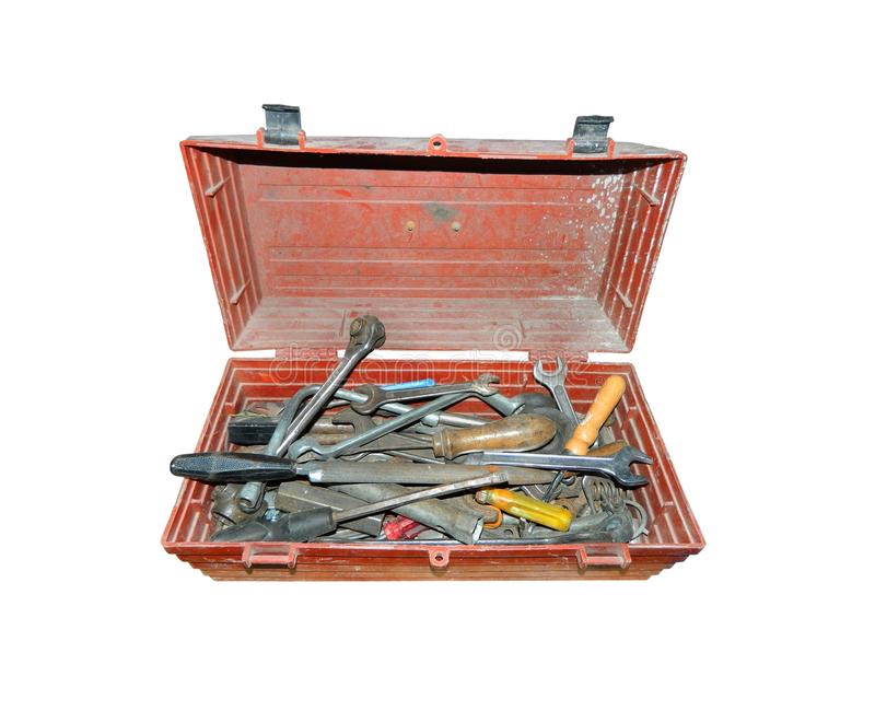 Download Tools stock image. Image of instrument, crate, isolated - 25958931