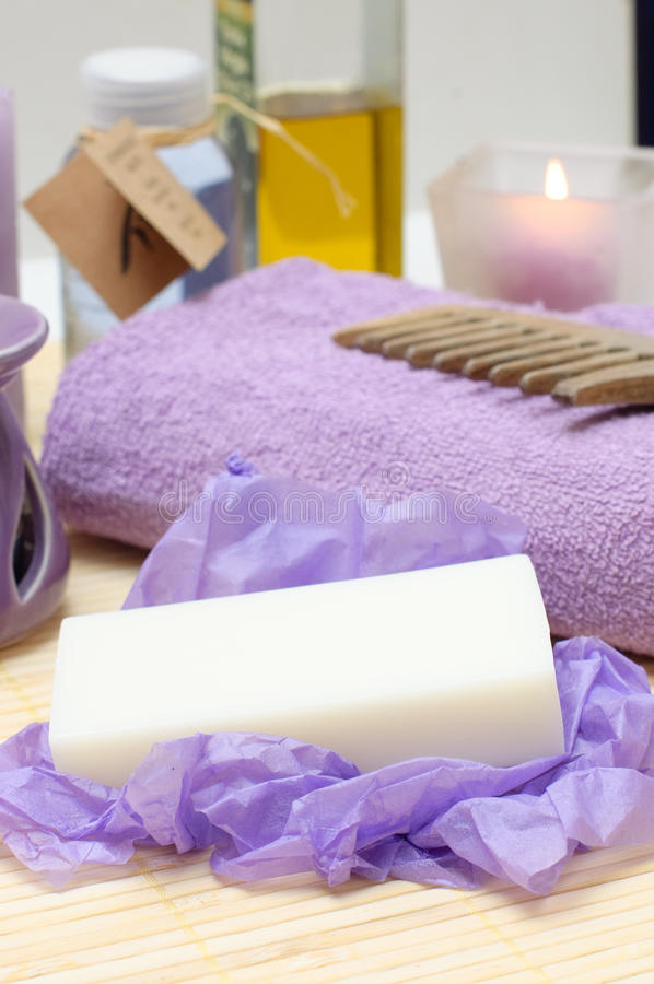 Download Tools For Body Care In The Spa Salon Stock Image - Image: 12854085