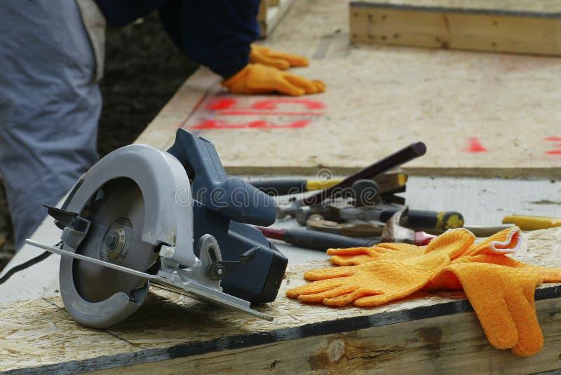 Tools at a Build Site