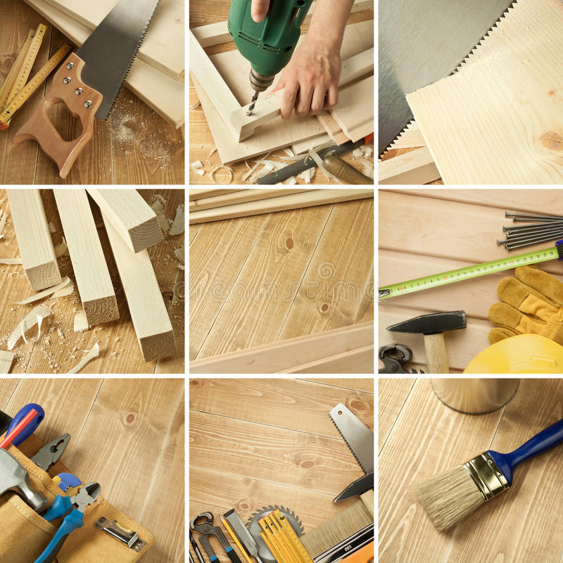 Free Tools Collage Stock Photo - 20645890