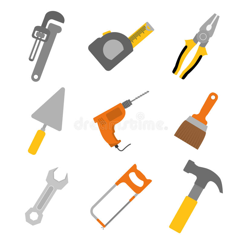 Tools design. vector illustration