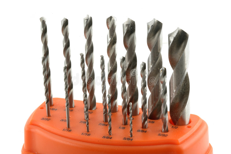 Tools drill bit stock image