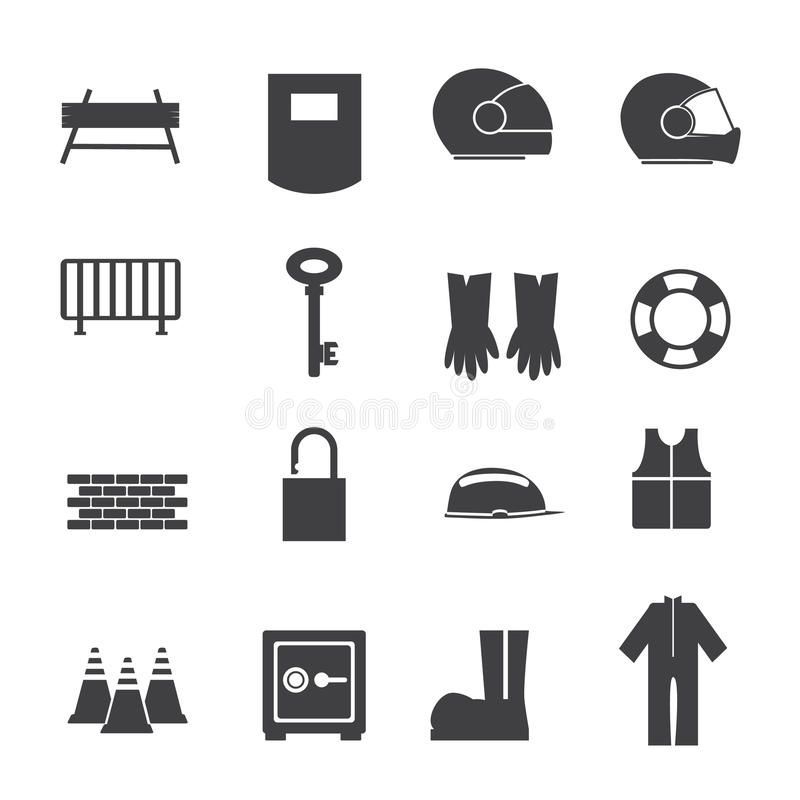 Tools and equipment for Safety stock illustration