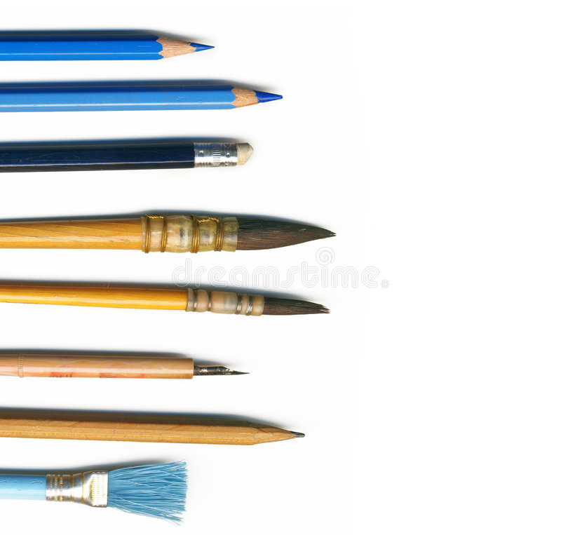 Free Tools For Drawing Stock Image - 8422981