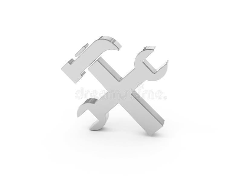 Download Tools icon stock illustration. Illustration of improvement - 14458729