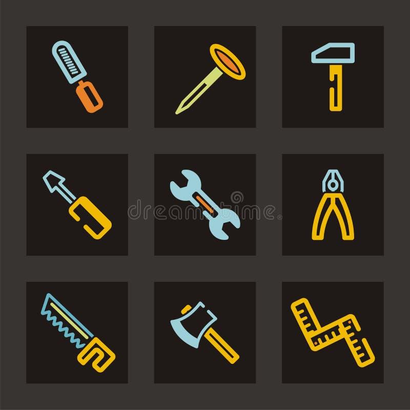 Tools Icon Series stock illustration