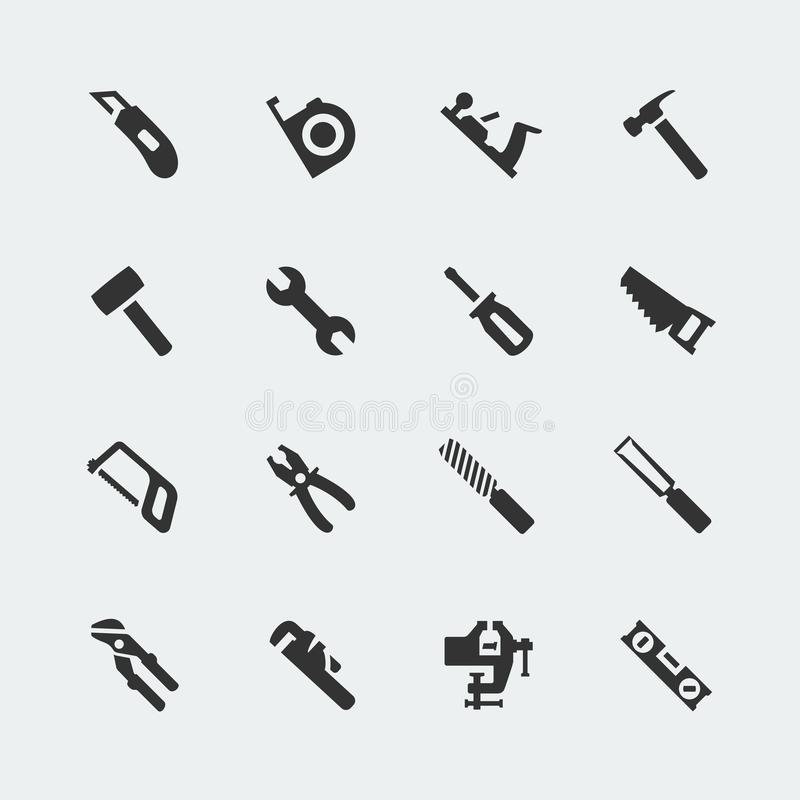 Free Tools Mini Icons Set Royalty Free Stock Photo - 164478465
