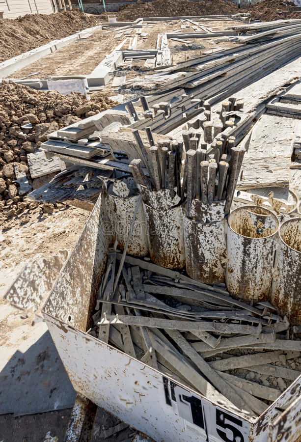 Download Tools Needed To Make A New Home Foundation Stock Image   Image Of  Support,