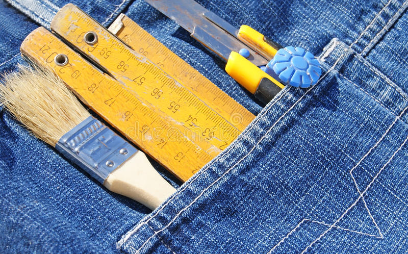 Tools In Pocket Stock Images