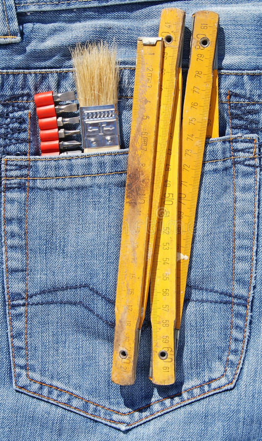 Tools And Pocket Stock Photography