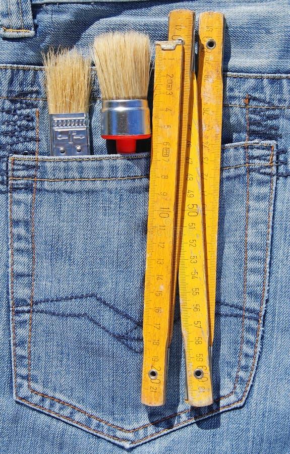 Download Tools in pocket stock image. Image of pocket, occupation - 29573789