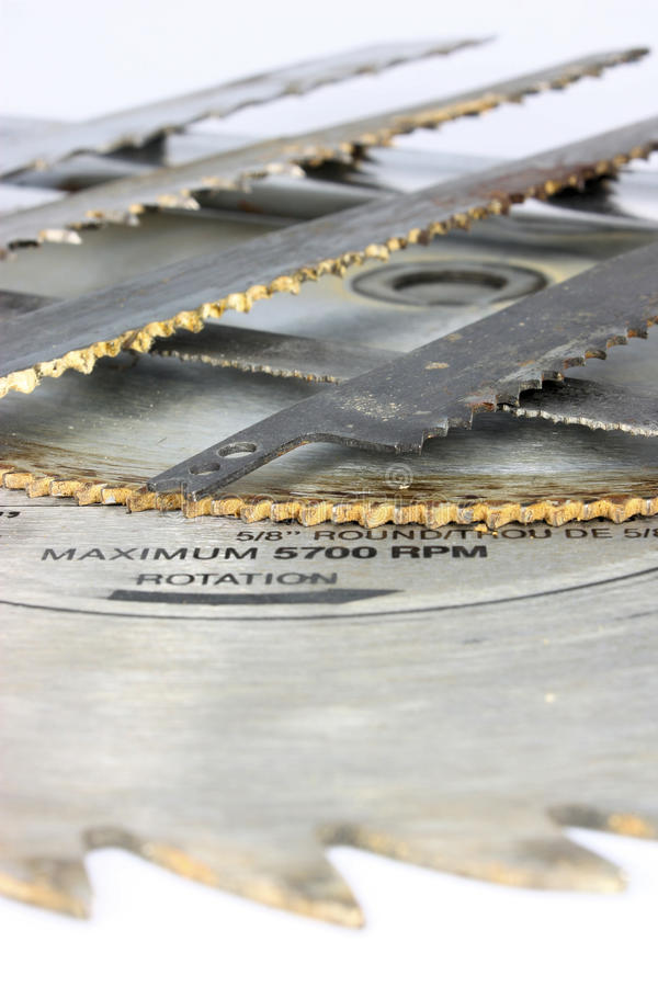 Free Tools - Saw Blades Royalty Free Stock Images - 12895389