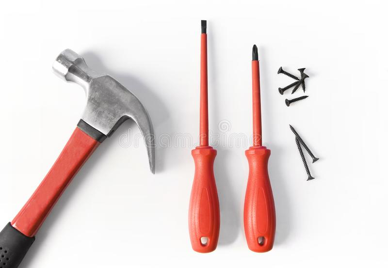 Tools series stock image