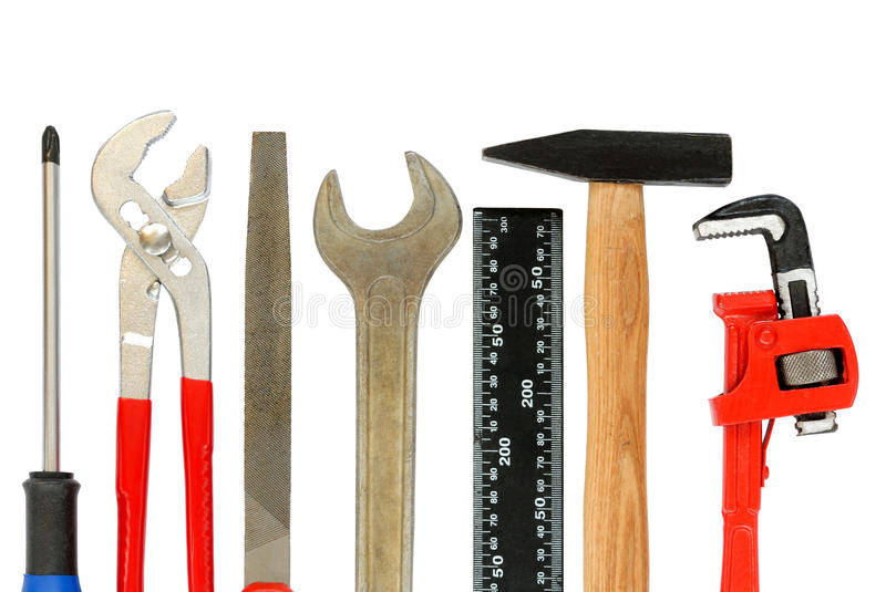 Download Tools Set stock photo. Image of tool, isolated, wrench - 12867826