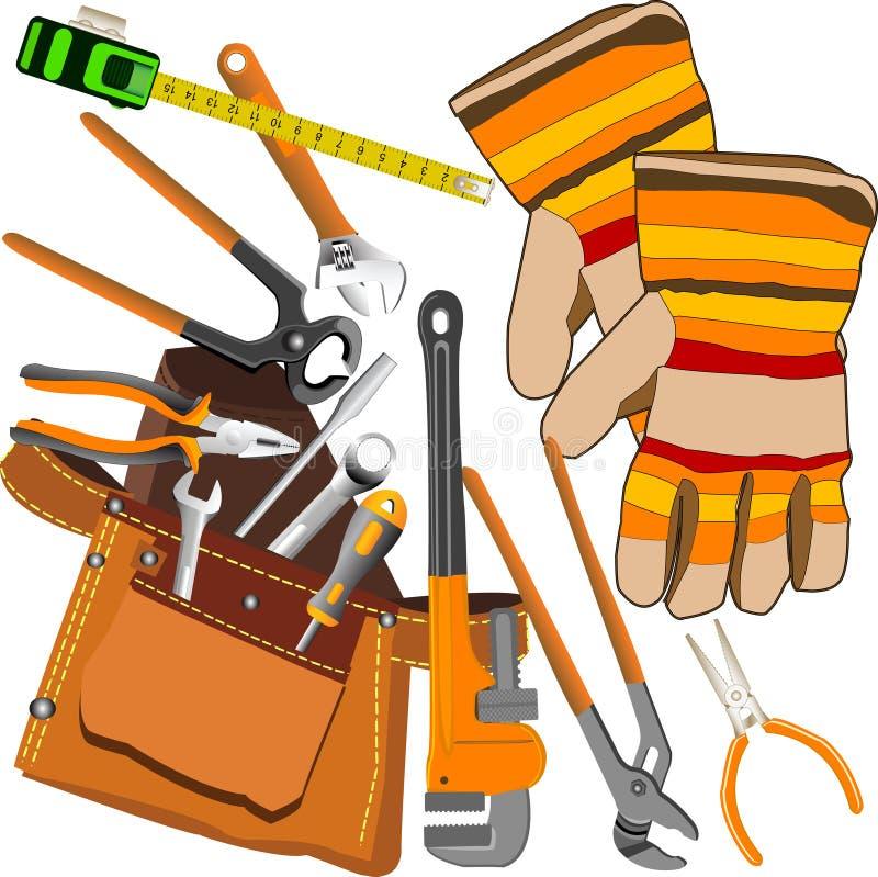 Tools set. royalty free illustration