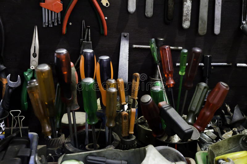 Tools. stock photography