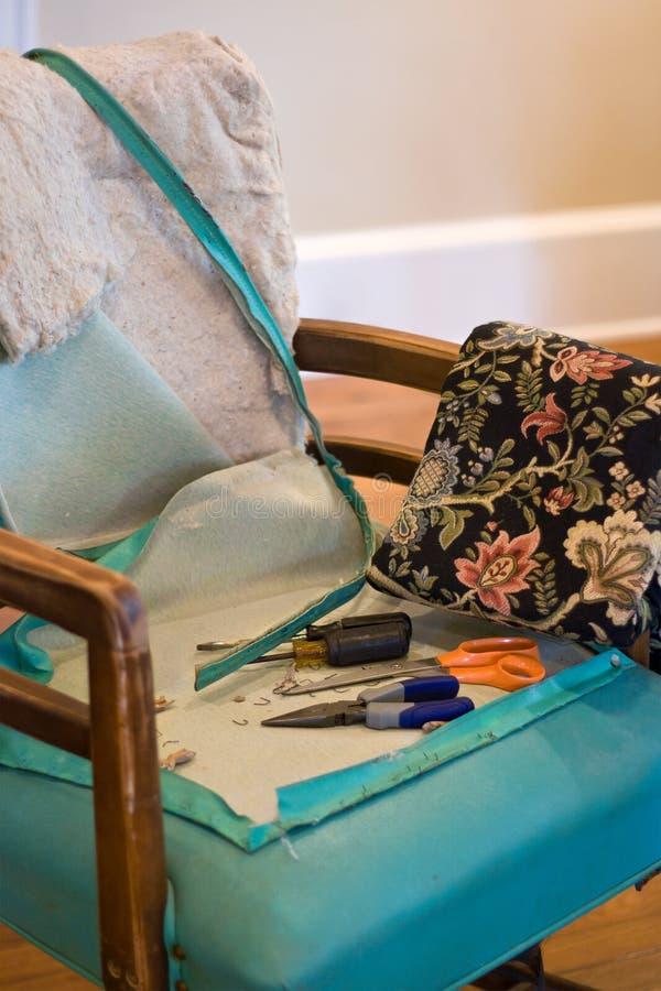tools upholstery arkivfoton