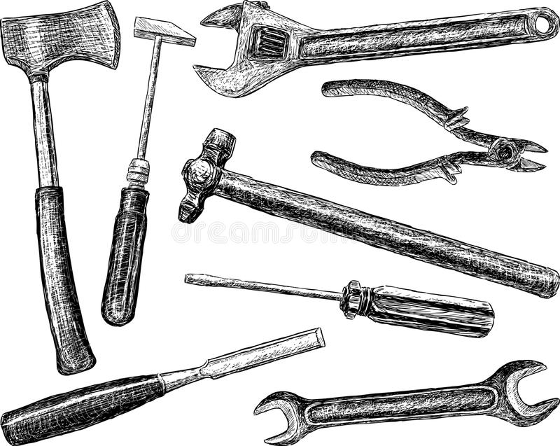 Tools Stock Photo Image Of White Objects Work Tool