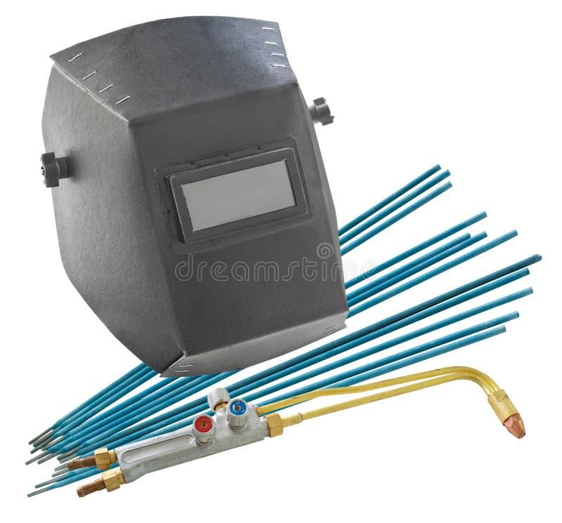 tools welderen royaltyfri foto
